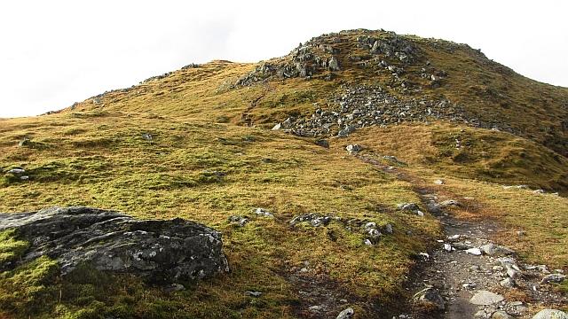 East ridge, Creag Mhòr