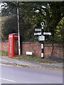 SK6130 : Fingerpost at The Square by Alan Murray-Rust