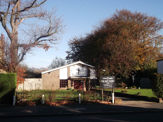 The Catholic Church of The Holy Family, Sanderstead