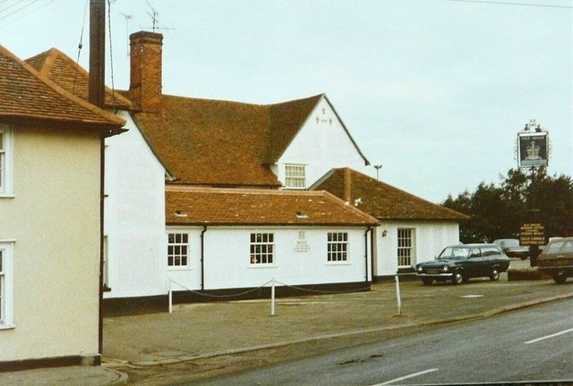 The Crown, Stoke-by-Nayland in 1980