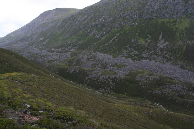 Moraines in Strath Nethy