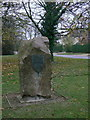 SK6133 : Millennium stone, Normanton by Alan Murray-Rust