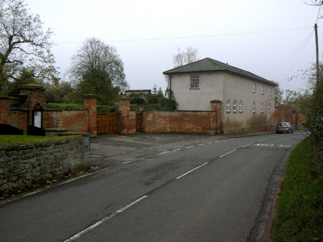Gateway and stable block at the Old Rectory