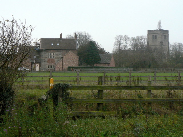 Hall Farmhouse and Plumtree Church