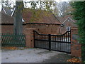 SK6135 : Barn at Bassingfield House by Alan Murray-Rust