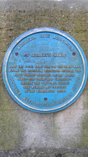 Blue Plaque for St Leonard's Square