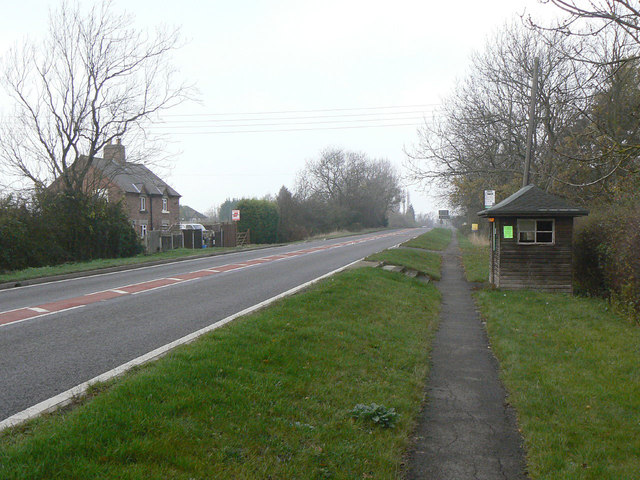 A606 at Hickling Pastures