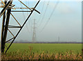 SK6930 : Pylons in the Vale of Belvoir by Alan Murray-Rust