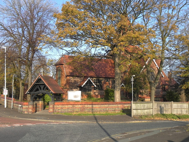 St Anne's Church and Lychgate