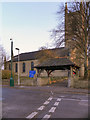 SJ9494 : St George's Church and Lychgate by David Dixon