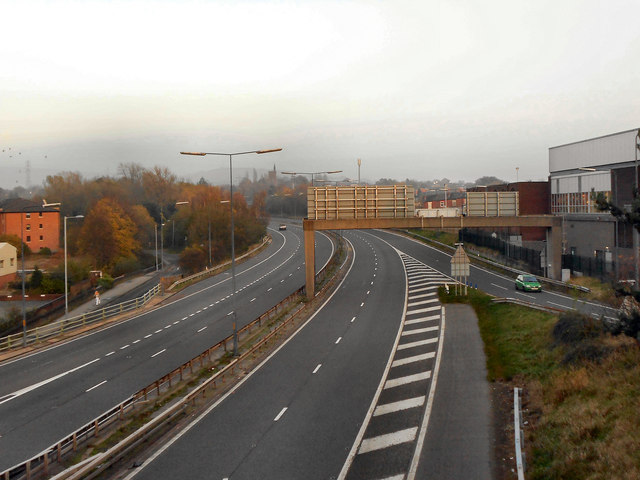 M67 at Junction 3