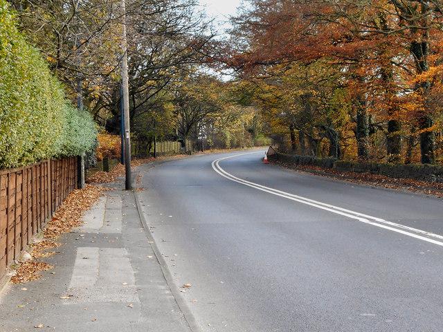 A6018, Mottram Road