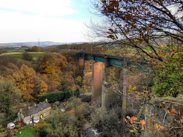 Etherow Viaduct, Broadbottom