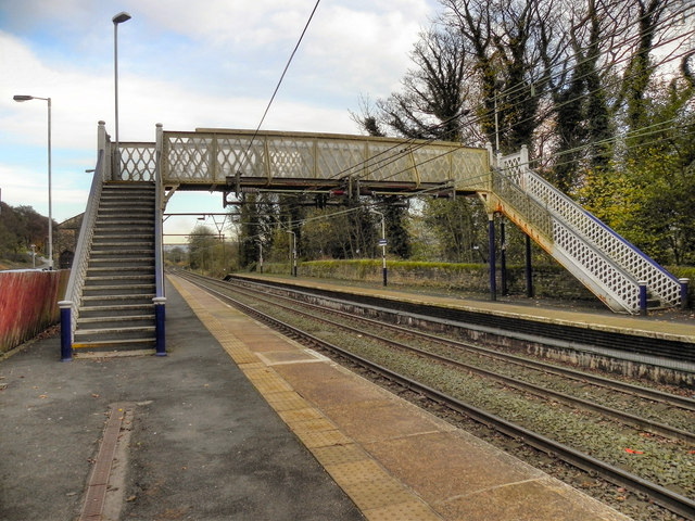 Broadbottom Rail Station Footbridge