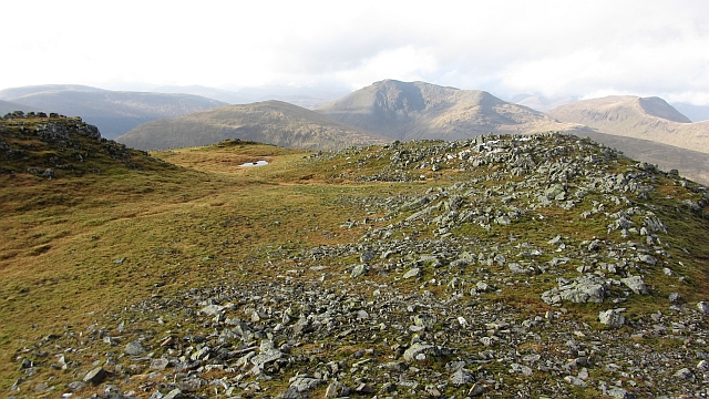 Summit area, Creag Mh&ograve;r