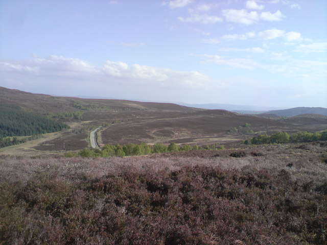 View over the southern end of Glen Convinth