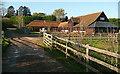 SU9587 : Pennlands Farm by Graham Horn