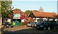 SU9585 : Beeches Garage by Graham Horn