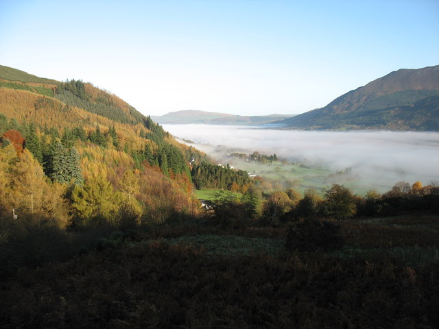 Bassenthwaite Lake under cloud