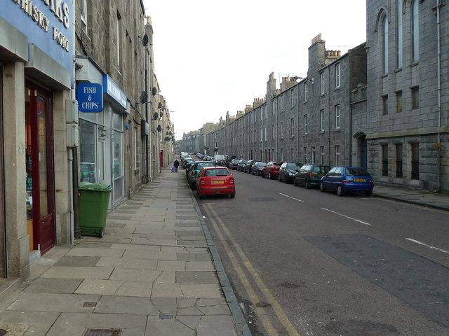 Urquhart Road, Aberdeen