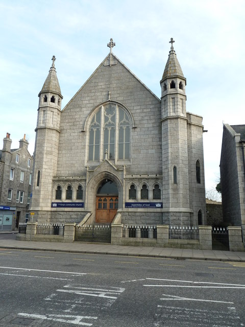 King's Community Church, King Street, Aberdeen