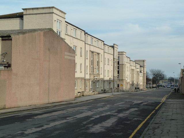 Flats, Pittodrie Street, Aberdeen