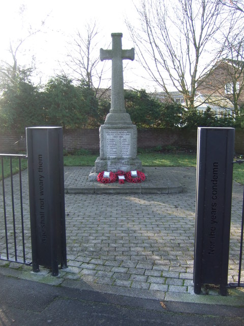 War Memorial, Ludworth