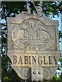TF6726 : Babingley Village Sign by Theo Foster