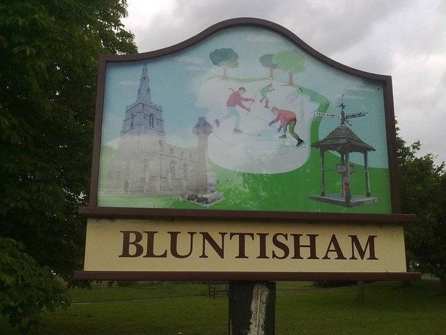 Bluntisham Village Sign