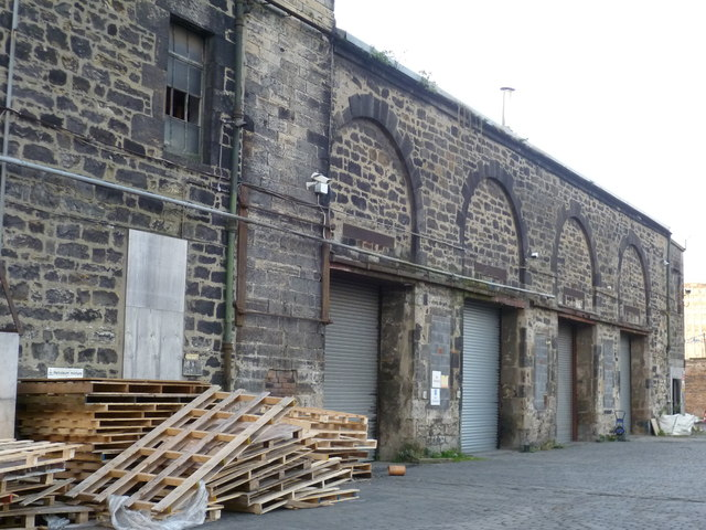 Old warehouse off Baltic Street
