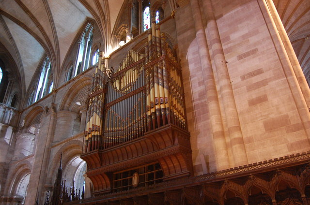 Hereford Cathedral Org...