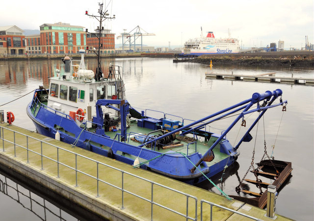 "The tug ""Otterbank"" at Belfast"