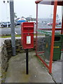 HU4640 : Lerwick: postbox &#8470; ZE1 7, South Road by Chris Downer