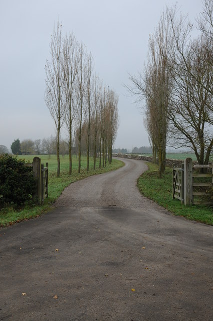 Driveway to Hesters Barn
