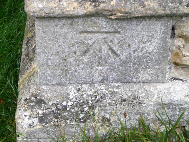 Bench Mark, St Mary's Church