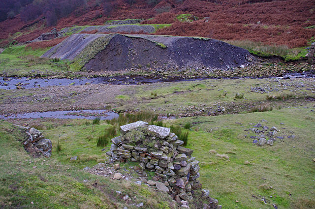 Spoil heaps, Sir Francis Mine