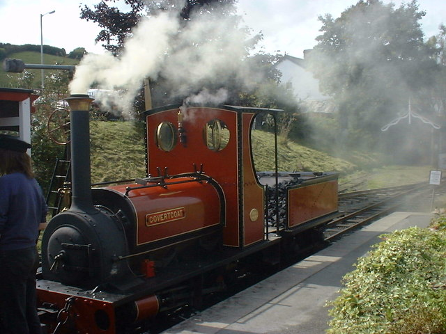 """Covertcoat"" at Launceston Steam Railway Cornwall"