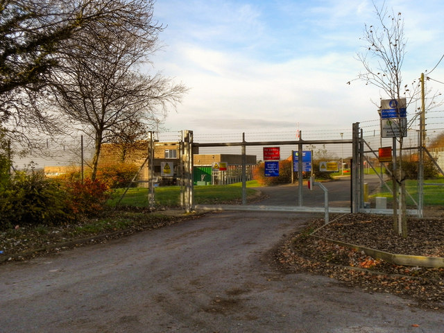 United Utilities Water Treatment Works, Godley