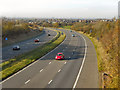SJ9695 : M67 Motorway From Hyde by David Dixon