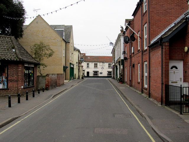 Southern End of Staithe Street, Wells-next-the-Sea