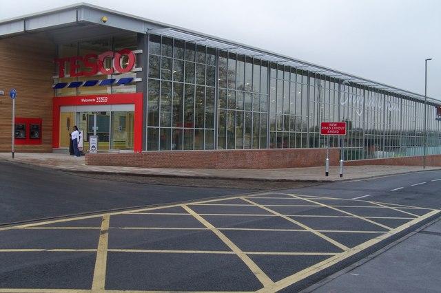 New Tesco Store, Quay St - Fareham