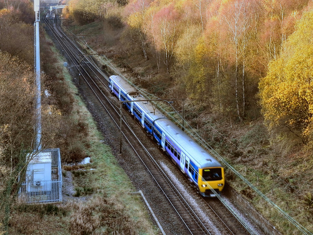 Railway Cutting, South-West of Hattersley