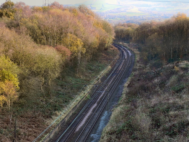 Railway Cutting, South of Hattersley