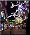 TQ2981 : Carnaby Street, Xmas 2011 : Week 47