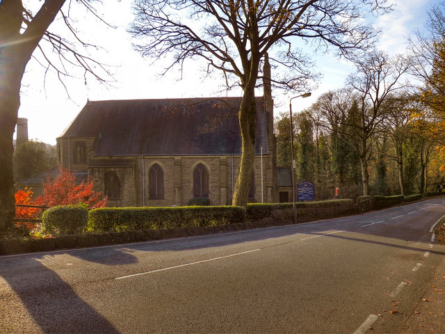 Church of the Immaculate Conception, Long Lane, Broadbottom