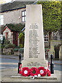 SK0092 : Charlesworth War Memorial by David Dixon