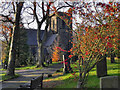 SK0092 : St John's Church, Charlesworth by David Dixon