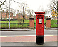 J3376 : Pillar box, Belfast by Albert Bridge