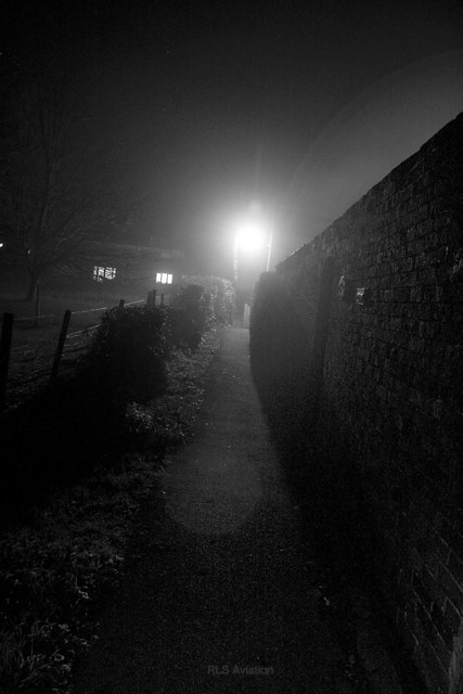 Dark and Misty Night