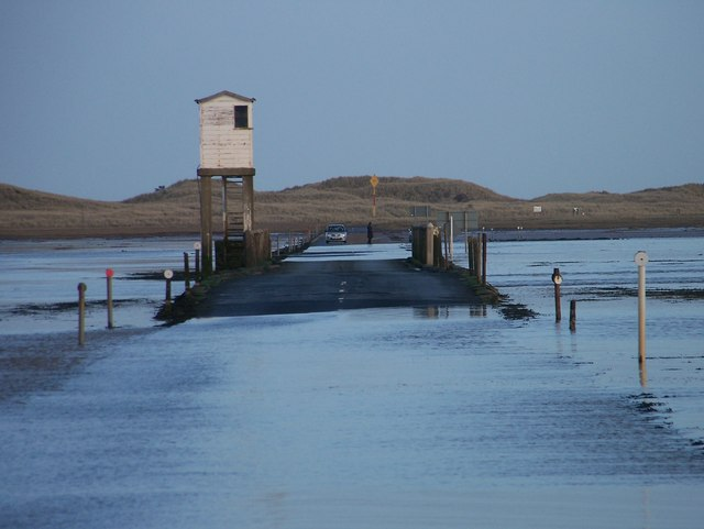 The Causeway to Holy Island